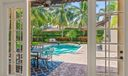 French Doors to Tropical Oasis