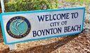 city of Boynton Beach sign