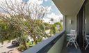 Balcony off Bedrooms