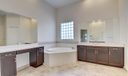 Huge Soaking Tub and Spacious Shower