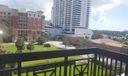 2 balconies water views