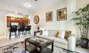 Beautiful Living Room & Kitchen