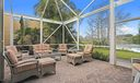 7683 Dahlia Ct screened patio and view