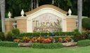 Tuscany east sign