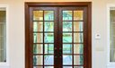 Custom Mahogany Front Doors