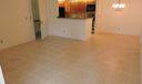 living room looking otward kitchen