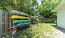Kayak/Surf Board Racks Side Yard
