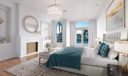 virtually staged - guest bedroom