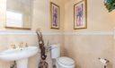 1/2 Bath in main house