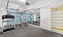 Air Conditioned 3rd Car/Exercise Room