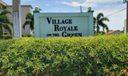 Village Royale Sign