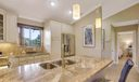 Elegant high end cabinetry and finishes.