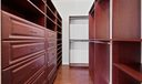 Custom His and Hers closets