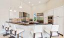 Oversized Kitchen - plenty of seating
