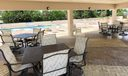 Pool Deck with covered area