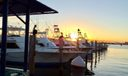 Boats and sunset