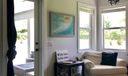 Sitting room and Patio Door