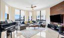 Corner Condo Living Room