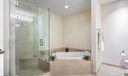 Soaking Tub & Marble Shower