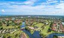 JL Golf Club and community aerial