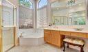 Dressing Area & Whirlpool Tub