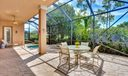Large Private Screened Patio