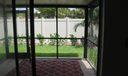 Enclosed Patio & Garden