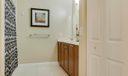 Guest Bathroom with Linen Closet