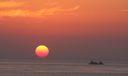 Sun Rise on the Atlantic Ocean