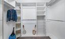 Large Upgraded Master Closets