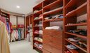 There are 2 Master Closets like this