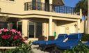 Patio/master balcony