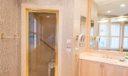 Steam Shower in Master Bathroom