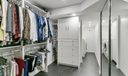 Large Walk-in with Laundry