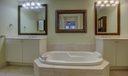 Master bath w/raised dual sinks