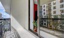 Tiled balcony