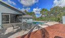 Side back yard pool
