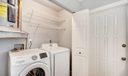 Laundry & Utility Closet w