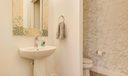 1/2 Bath on Main Living Area (2nd fl)