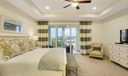 Master Bedroom w/ Lrg Patio