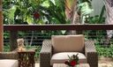 Tiki sitting area