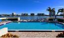 Pool overlooking  Intracoastal