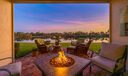 Covered Patio Sunset & Lake View
