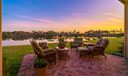 Patio Sunset & Lake View