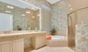 Master Bath with Double Vanities
