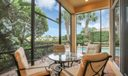 Screened Patio/Lanai with Pool View