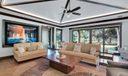 Tennis Pavilion Living Area