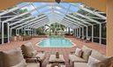 Grand enclosed pool area!