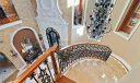 Stair way to foyer