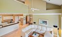 155 N River Dr family room kitchen from